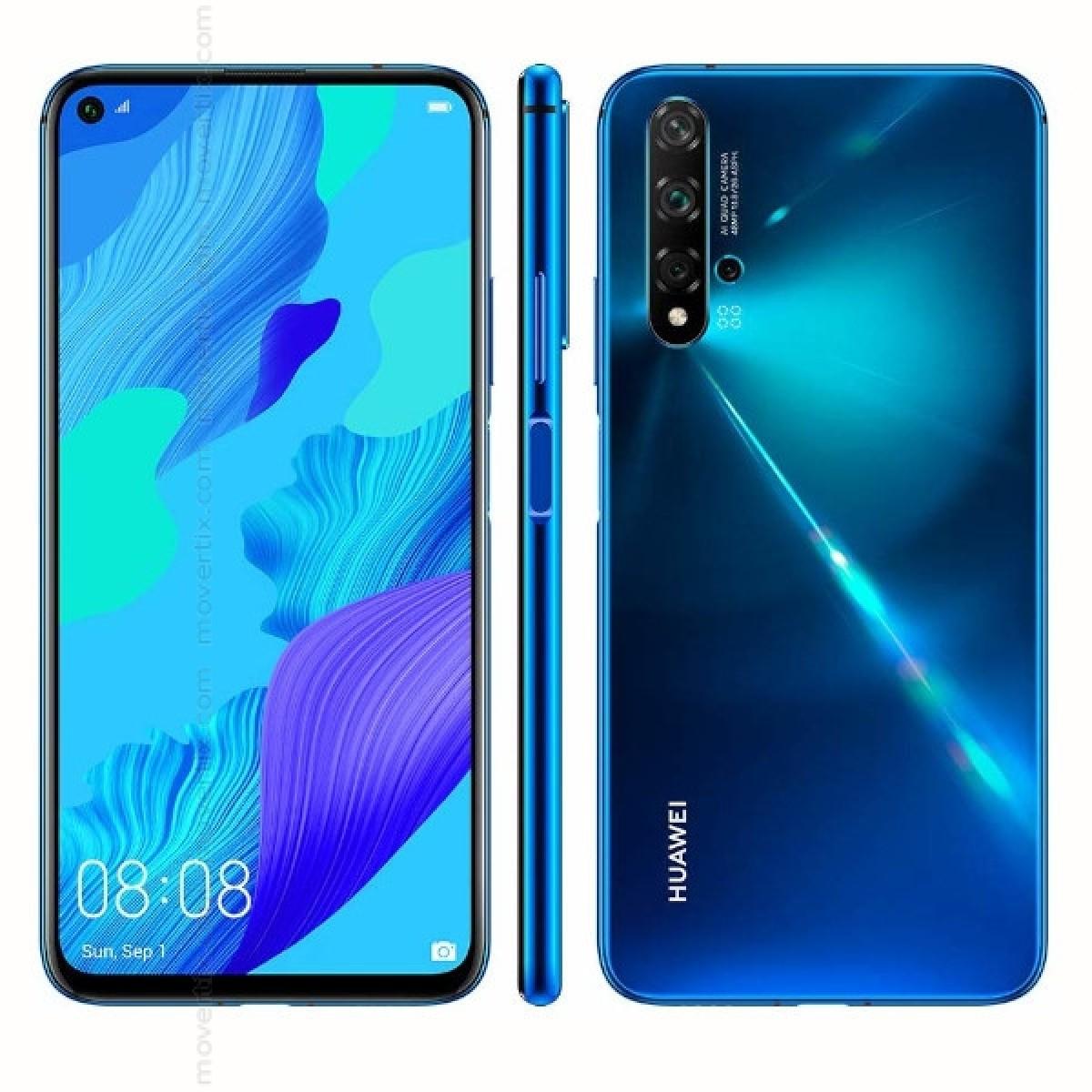 El Ghazawy HUAWEI NOVA 5T 8 128GB CRUSH BLUE